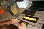 Making Nori Wraps