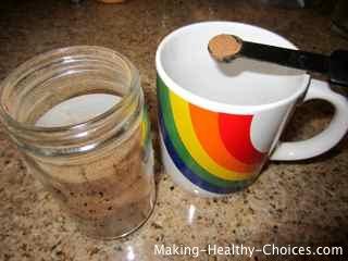 Composition Powder - Homemade Cough Remedy