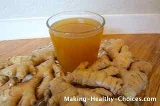 Homemade Ginger Juic