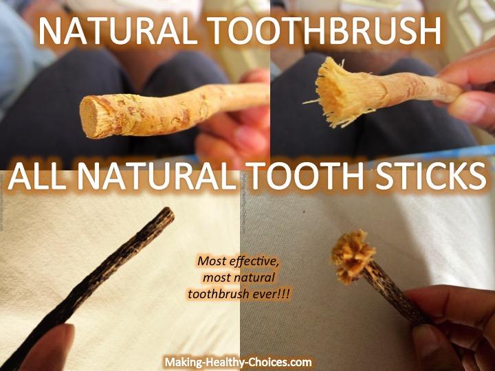 Natural Toothbrush Tooth Sticks