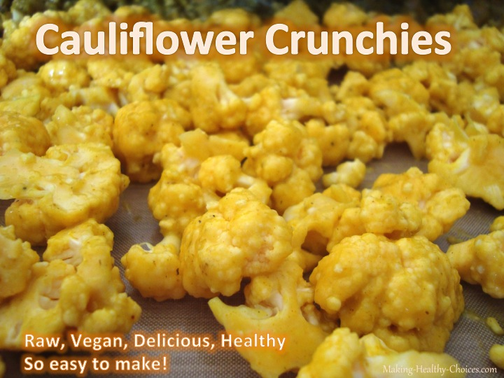 Cauliflower Crunchy Snack