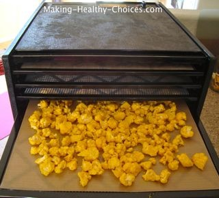 Cauliflower Dehydrator Recipe