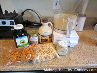 Healthy Cookie Ingredients