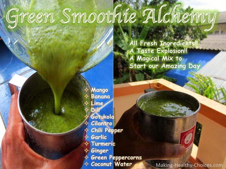 Green Smoothie Alchemy