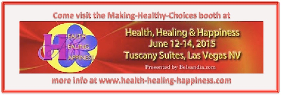 Making-Healthy-Choices booth at Holistic Health Festival
