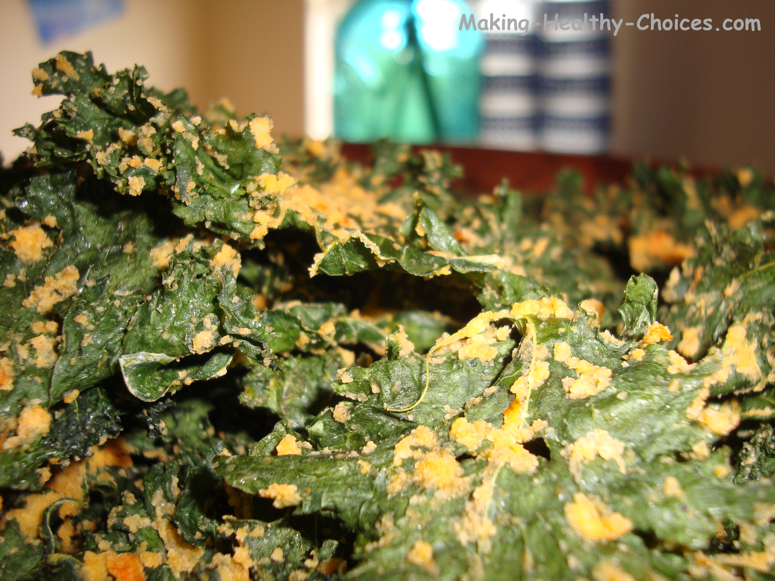 Kale Chips - closeup