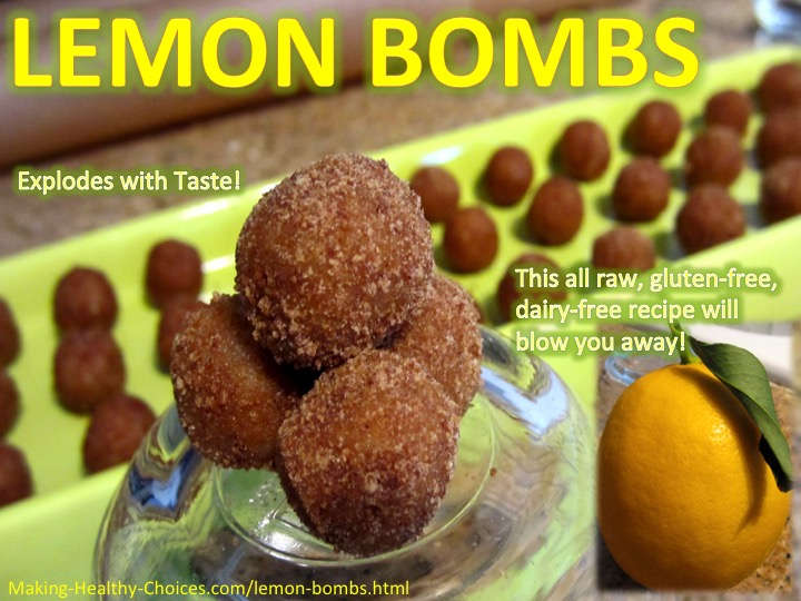 Lemon Bomb Energy Balls