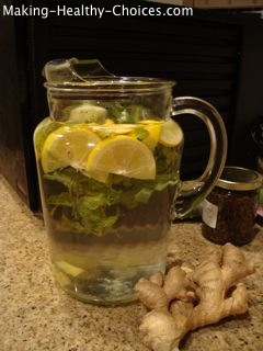 Ginger Mint Water