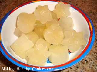 Lemon Ice Cubes