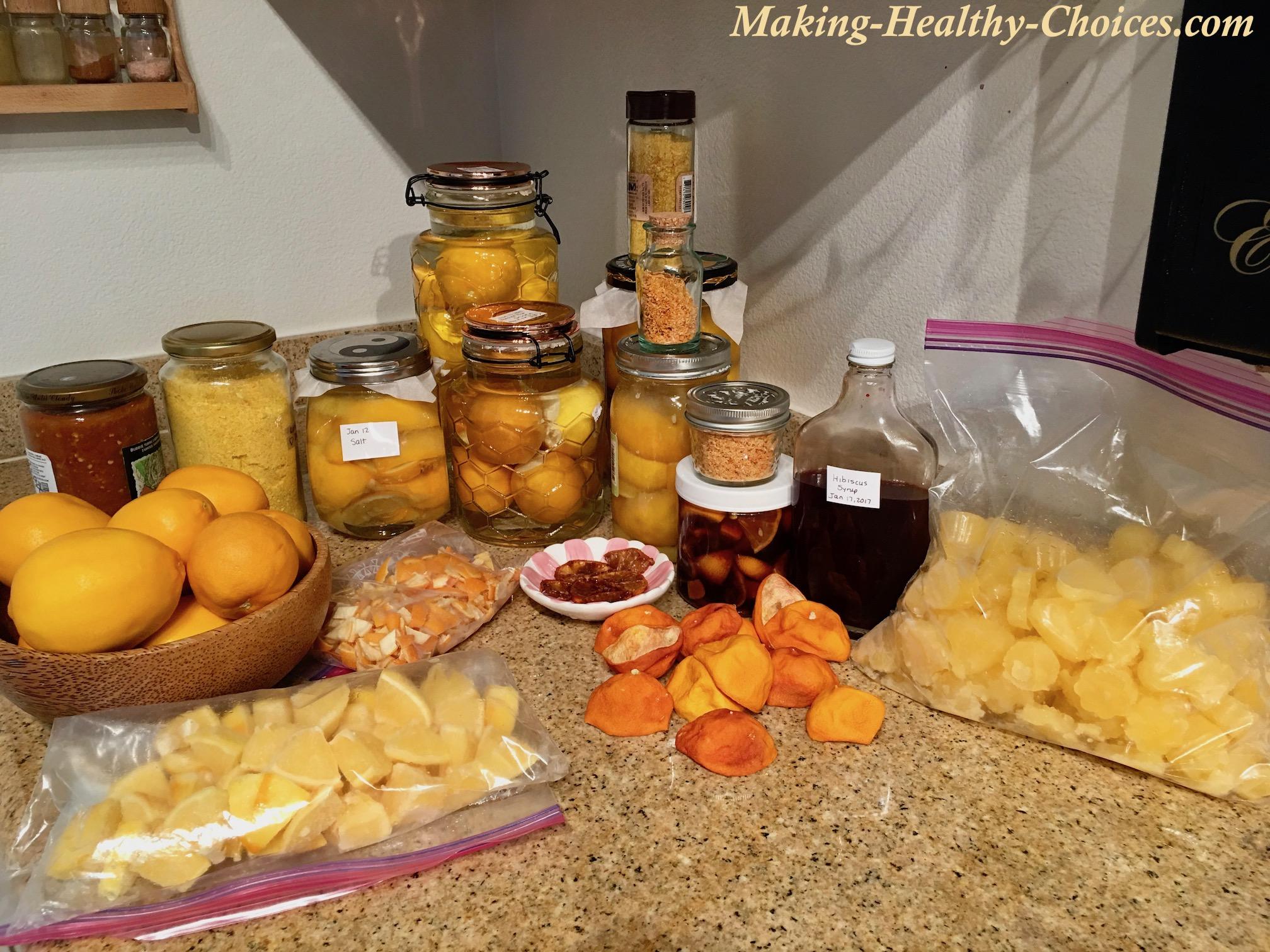 So Many Ways to Use Meyer Lemons!