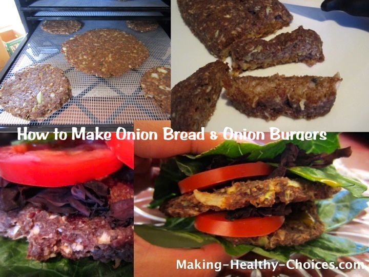 How to Make Onion Bread (and Burgers)