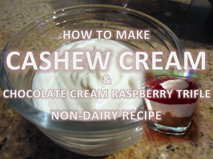 Cashew Cream Recipe