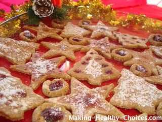 Raw Vegan Christmas Cookies
