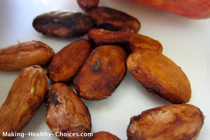 Sun Dried Cacao Beans