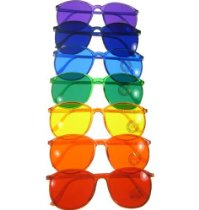 Color Therapy Glasses Round