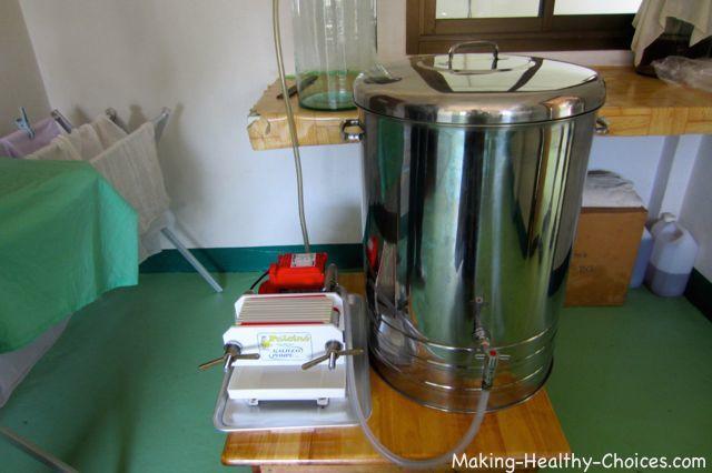 Coconut Oil Filtration System