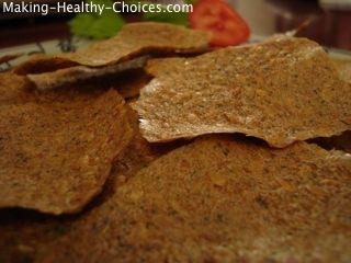 Raw Vegan Crackers
