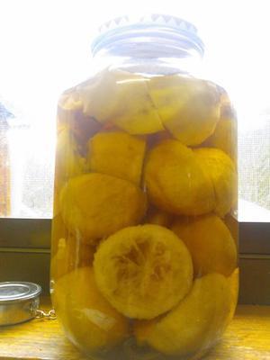 Lemon Vinegar